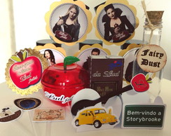 Kit festa ONCE UPON A TIME - 216 itens