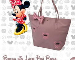 Bolsa Big Laço Poa minnie