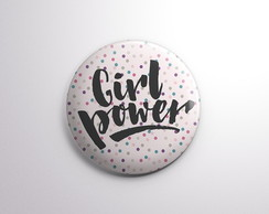 Botton - Girl Power