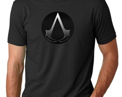 Camisetas Camisas do Jogo Assassin's Creed Game Ps3 Ps4 Xbox