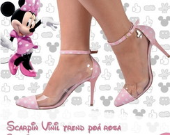 scarpin mickey ou minnie