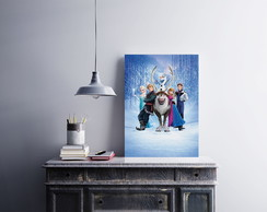 "Placa decorativa MDF ""Frozen"""