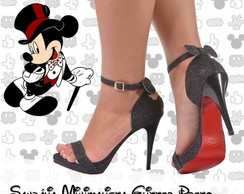 sandalia mickey ou minnie