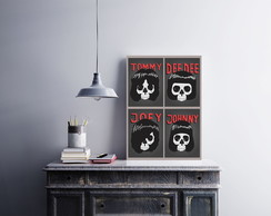 "Placa decorativa MDF ""Ramones"""