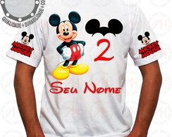 Camiseta Mickey Mouse Camisa Ah01267