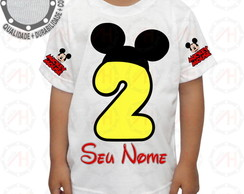 Camiseta Mickey Mouse Camisa Ah01270
