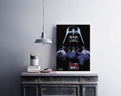"Placa decorativa MDF ""Darth Vader"""