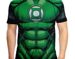 ... Camiseta Masculina Traje Lanterna Verde f7c439412f9b2