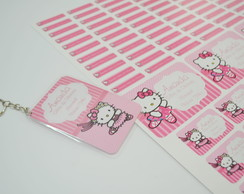 Etiqueta personalizada Hello Kitty