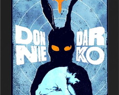Quadro c/ moldura -Donnie Darko 33x22,5cm