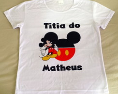 Camiseta Baby Look - Mickey