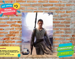 Placa Decorativa - STAR WARS 5 - REF0025