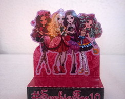 Porta chocolate duplo Ever After High