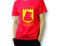 Camiseta House Lannister Game of Thrones
