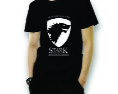 Camiseta Casa Stark Game of Thrones