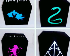 Luminaria Harry Potter em led