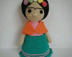 Amigurumi Frida Kahlo : Taza frida crochet en mercado libre argentina