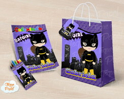 Kit pintura batgirl cute baby