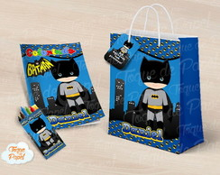 Kit pintura batman cute