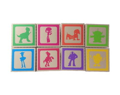 Blocos Personagens TOY STORY - 10x10cms