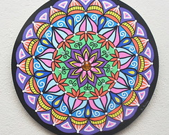 Mandala Energia Colorida
