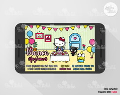 Convite DIGITAL - Hello Kitty