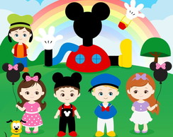 Kit digital PNG - Turma do Mickey