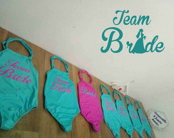 Body personalizado Team Bride Despedida body Noiva