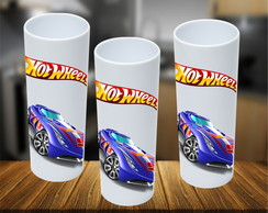 Copo Long Drink Hot wheels