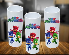 Copo Long Drink Pj Masks