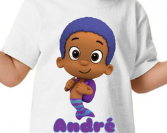 Camisa personalizada - Bubble Guppies