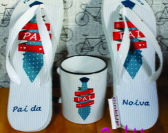 kit Caneca Col + Chinelo Uso Exclusivo