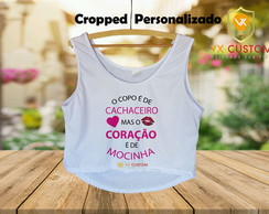 Cropped Personalizado Carnaval