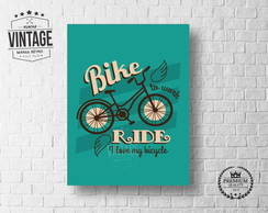 Placa Decorativa Bicicleta Bike
