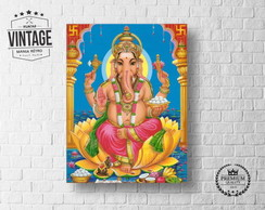 Placa Decorativa Ganesha