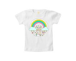 a48b08b772136 Camiseta INFANTIL Unicórnio Sorvetinho no Elo7