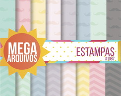 Kit Papel Digital - Estampas