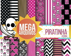 Kit Papel Digital - Piratinha