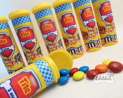Chocolate M&M Patrulha Canina