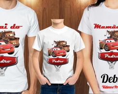bbdc2ad5a Kit de Camiseta Pai Mae e Filho