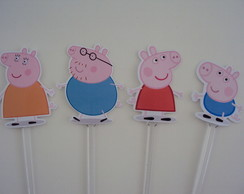 Topper para Doces -Peppa Pig