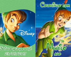Revista colorir Peter Pan Sininho 14x10