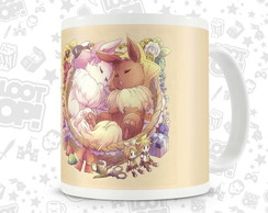 Caneca Gamer Pokemon Eevee LO001