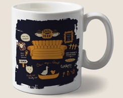 Caneca central perk friends
