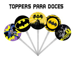Toppers para doces BATMAN