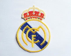 Patch Bordado Logo Time - Real Madrid