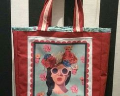 Bolsa Pin Up Floral