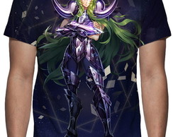 Camiseta Shion de Áries - Saga Hades - Estampa Total