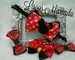 Kit laços Minnie