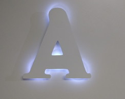 Letra Decorativa LED MDF